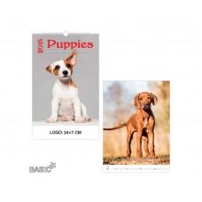 Puppies - Kutyusok falinaptár